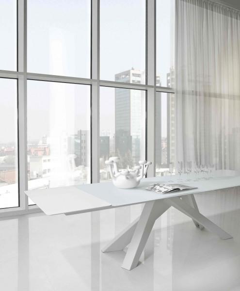Bonaldo ausziehbarer Tisch BIG 160 auf 240 cm bei Villatmo.de