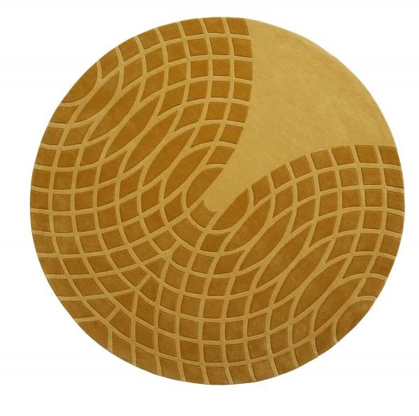 Verpan Teppich Grande Gelb