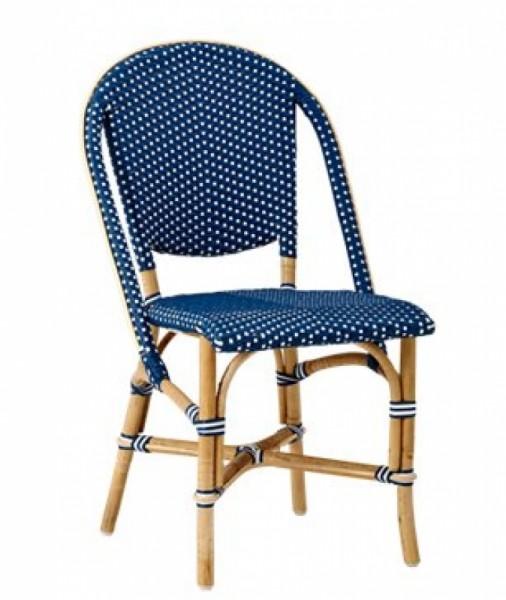 Sika Design Rattan-Stuhl Sofie Navy 2er Set