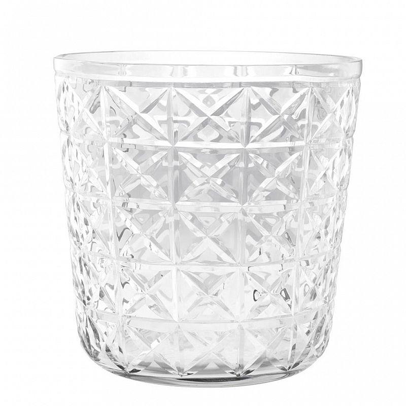 Design-Sektkühler aus Glas