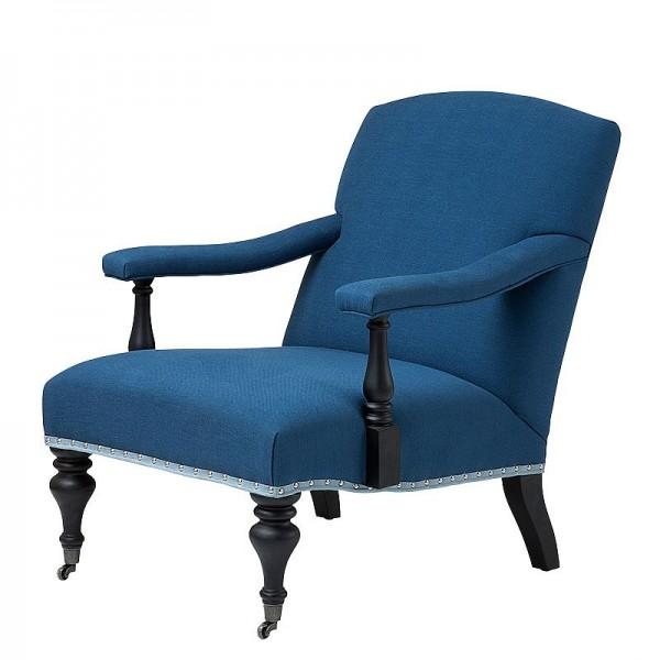 EICHHOLTZ Sessel Trident blau