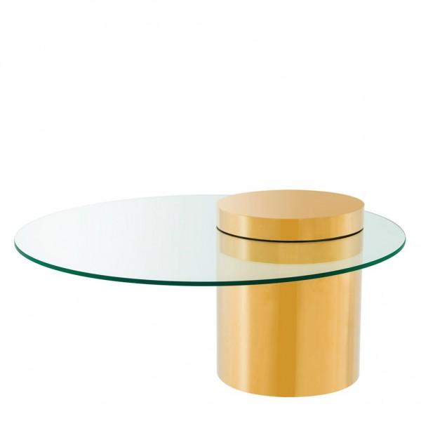 EICHHOLTZ Couchtisch Equilibre Gold