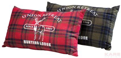 KARE Design Kissen Set Hunting Lodge zweiteilig