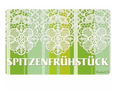 """Blümchen & Ko Frühstücksbrett """"Spitzenfrühstück"""""""