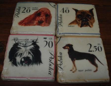 Appletree Untersetzer Dogs Set von 4