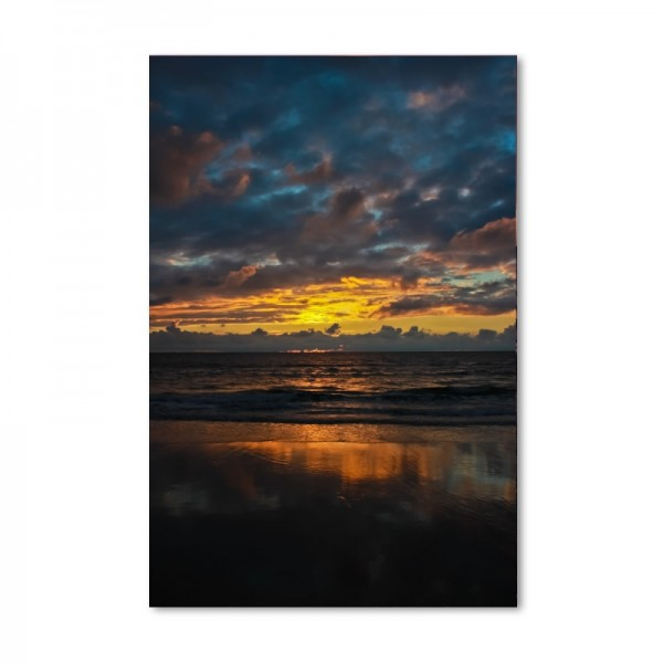 Niko Korte Fotoprint - Sunset north vertical